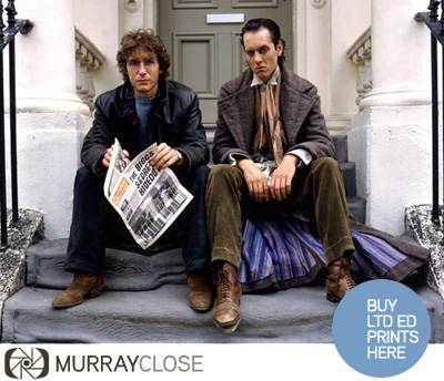 Limited edition Withnail and I prints from Murray Close