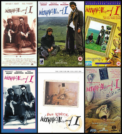 Withnail DVD and VHS covers