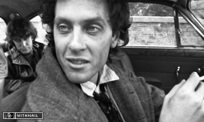 Withnail just before being arrested